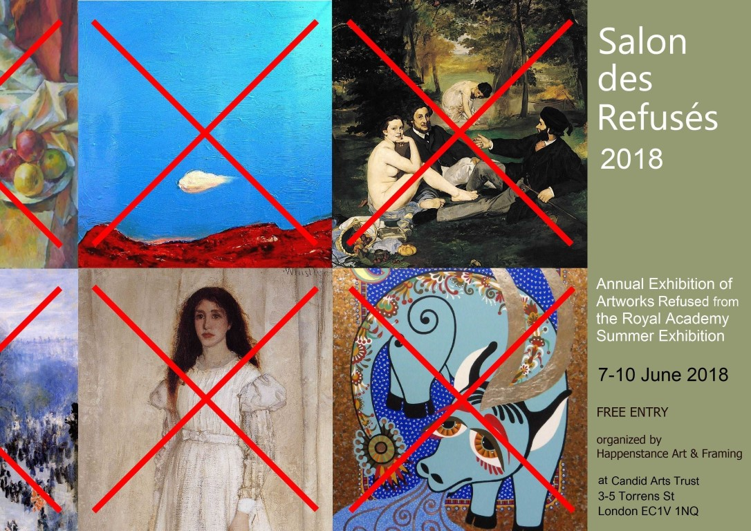 Salon des Refuses 2018 Invitation Medium